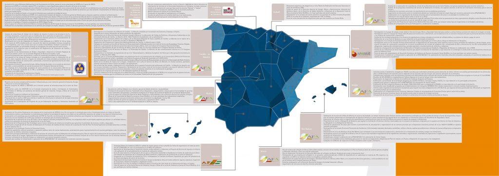 Mapa de AFAs