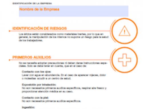 Presentación del folleto de Recomendaciones de uso para el manejo y traslado de áridos