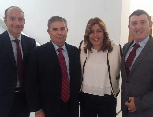 AFA Andalucía asiste a la firma del Pacto por la Industria de Andalucía
