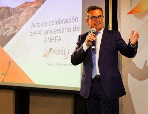 Ramón Ruberte Auré, reelegido presidente de ANEFA