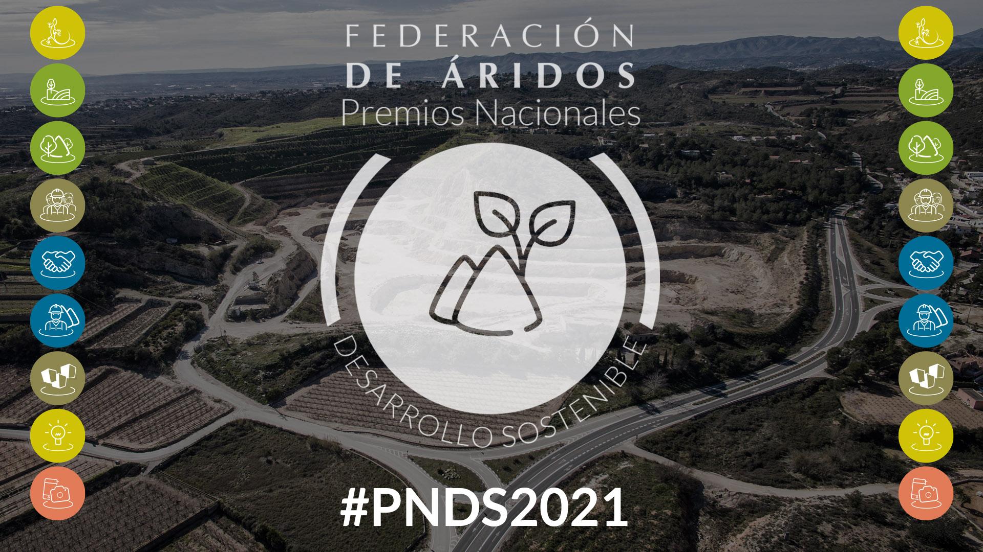 Lanzamiento de los Premios Nacionales de Desarrollo Sostenible en canteras y graveras 2021 con una imagen renovada y nuevas categorías