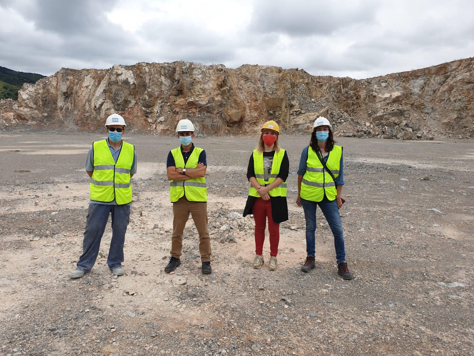 El Director General de Calidad Ambiental y Recursos Hídricos de La Rioja visita Canteras Fernández Pascual
