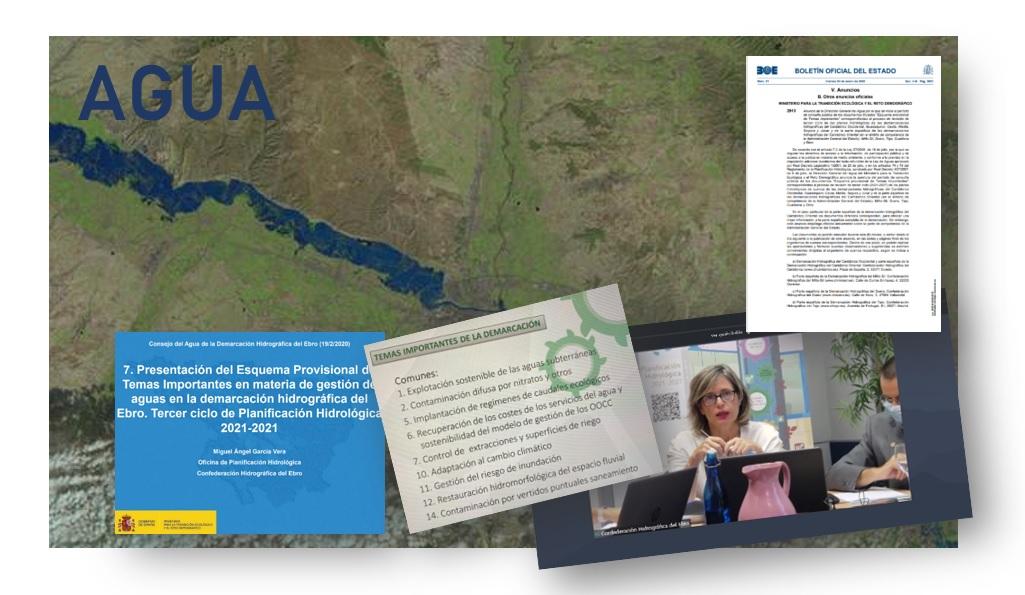 En exposición pública los esquemas de Temas Importantes de las Cuencas Hidrográficas