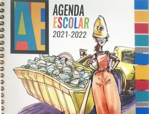 Iniciativa Agenda Escolar 2021-2022 de la Junta de Castilla y León